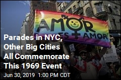 Across the Country, LGBT Parades on a Most Important Date