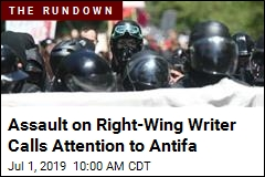 Assault on Right-Wing Writer Calls Attention to Antifa