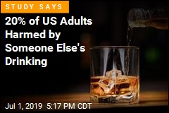 20% of US Adults Harmed by Someone Else's Drinking