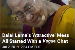 Dalai Lama Sorry About That 'Attractive' Comment