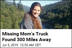 Missing Mom's Truck Found 300 Miles Away