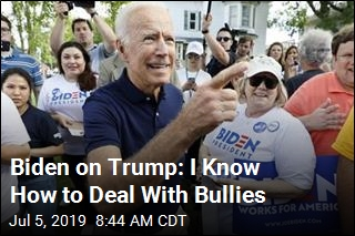 Biden on Trump: I Know How to Deal With Bullies