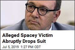 Alleged Spacey Victim Abruptly Drops Suit