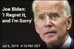 Joe Biden Issues Rare Apology