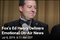 Fox's Ed Henry Delivers Emotional On-Air News