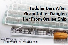 Toddler Dies After Grandfather Dangles Her From Cruise Ship
