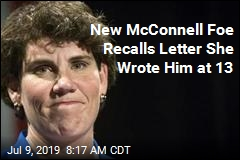 New McConnell Foe Recalls Letter She Wrote Him at 13