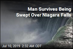 Man Survives Being Swept Over Niagara Falls