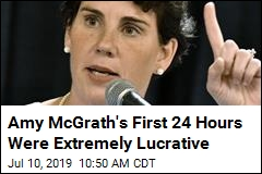 Amy McGrath's First 24 Hours Were Extremely Lucrative