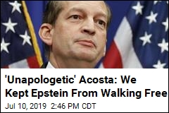'Unapologetic' Acosta: Epstein Deal Was Best We Could Do