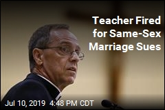 Teacher Fired for Same-Sex Marriage Sues Archdiocese