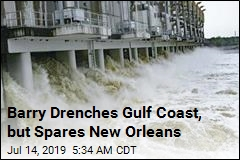 Barry Drenches Gulf Coast, but Spares New Orleans
