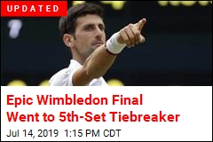 Epic Wimbledon Final Went to 5th-Set Tiebreaker