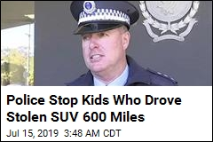 Police Stop Kids Who Drove Stolen SUV 600 Miles