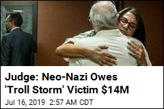 Neo-Nazi Blogger Ordered to Pay 'Troll Storm' Victim $14M