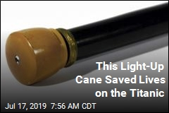 Titanic Survivor's Life-Saving Cane Could Be Yours