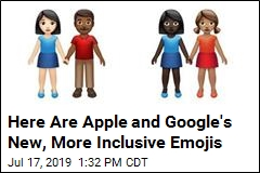 Apple, Google Announce New, More Inclusive Emojis