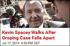 Kevin Spacey Walks After Groping Case Falls Apart