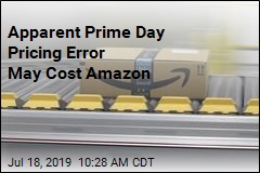 Apparent Prime Day Pricing Error May Cost Amazon