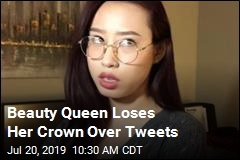 Beauty Queen Loses Her Crown Over Tweets
