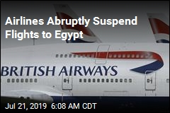 Airlines Abruptly Suspend Flights to Egypt