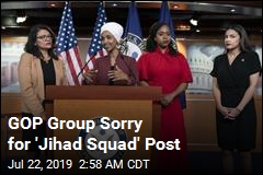 GOP Group Removes 'Jihad Squad' Post