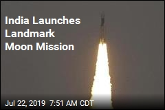 India Launches Landmark Moon Mission