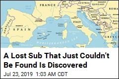 A Lost Sub That Just Couldn't Be Found Is Discovered
