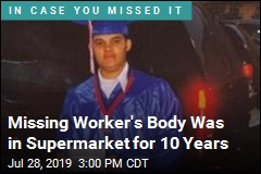 After 10 Years, Body of Missing Worker Found in Supermarket