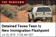 New Immigration Flashpoint: A Detained American Teen