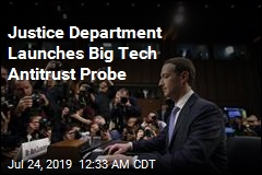 Justice Department Launches Big Tech Antitrust Probe