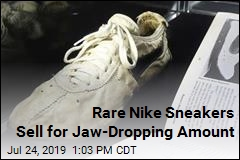 Rare Nike Sneakers Sell for Jaw-Dropping Amount