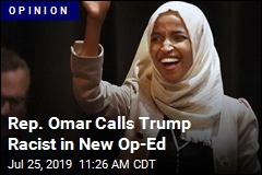 Rep. Omar: Trump's Rally a 'Defining Moment' for US