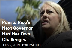 Puerto Rico's 2nd Female Governor Has Challenges, Too