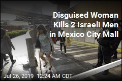 Woman in Wig Shoots 2 Israeli Men in Mexico