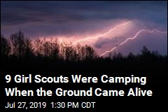 Girl Scouts Hit by Lighting in Remote Wildnerness