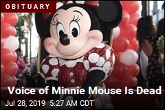 Voice of Minnie Mouse Is Dead