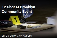 12 Shot at Brooklyn Community Event