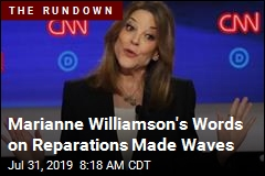 Marianne Williamson's Words on Reparations Made Waves