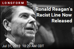 Ronald Reagan's Racist Line Now Released