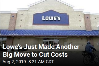 Lowe's Lays Off Thousands of Workers   Newser Mobile