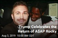 Trump Celebrates the Return of A$AP Rocky