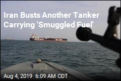 Iran Busts Another Tanker Carrying 'Smuggled Fuel'