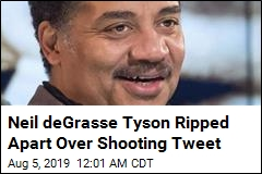 Neil deGrasse Tyson Shredded Over Shooting Tweet
