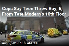 Cops Say Teen Threw Boy, 6, From Tate Modern's 10th Floor