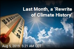 Last Month, a 'Rewrite of Climate History'