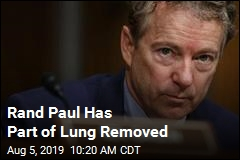 Rand Paul Has Part of Lung Removed