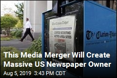This Media Merger Will Create Massive US Newspaper Owner