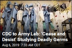 CDC to Army Lab: 'Cease and Desist' Studying Deadly Germs