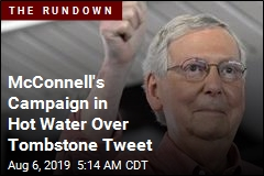 McConnell's Campaign in Hot Water Over Tombstone Tweet